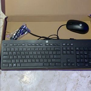 NEW! HP Keyboard and mouse!
